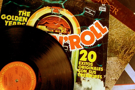A record and sleeve